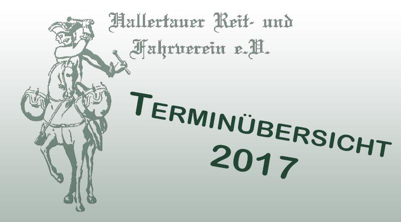 Termine 2017